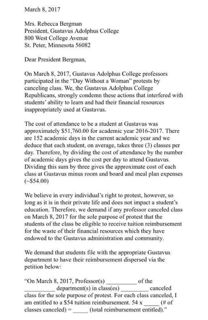 college repubs letter